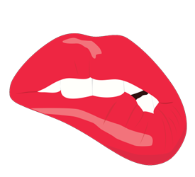 Biting Lips!